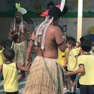 Visita dos índios Kariri Xocó